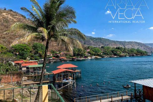 Casa para disfrutar en el lago de Coatepeque